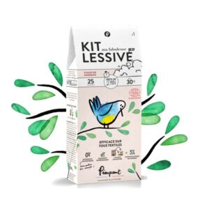 Lessive naturelle: le kit (25 lavages)